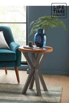 Amsterdam Acacia Wood Side Table