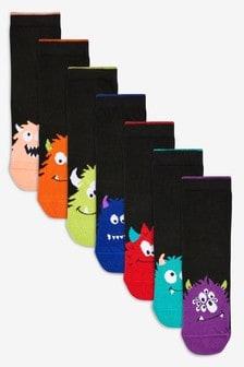 Monster Socks Seven Pack (Older)
