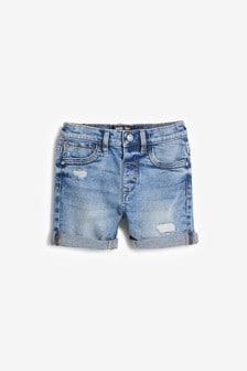 Distressed Denim Shorts (3mths-7yrs)