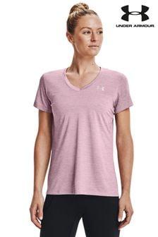 Under Armour Pink Tech SSV - Twist T-shirt