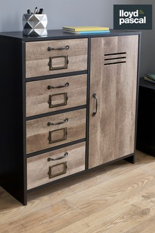 Cargo Four Drawer And Door Unit By Lloyd Pascal