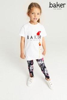 Baker by Ted Baker Scribble Top And Leggings Set