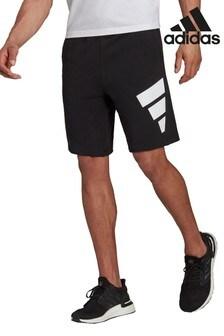 adidas Black 3BAR Shorts