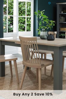 Oakham 4 to 6 Dining Table by Bentley Designs