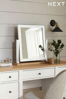 Malvern Chalk Dressing Table Mirror