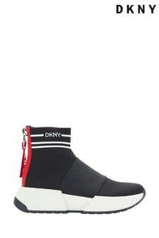 DKNY Black Marni Sock Boot Trainers