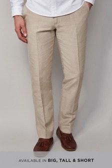 Signature Irish Linen Cotton Trousers
