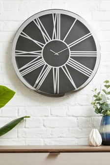 Extra Large Roman Numeral Wall Clock