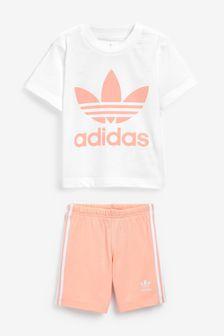 adidas Originals Infant Trefoil T-Shirt Set