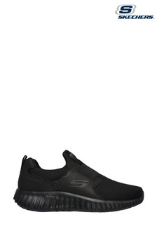 Skechers® Black Cicades Slip Resistant Trainers