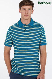 Barbour® Blue Styhead Stripe Polo Shirt