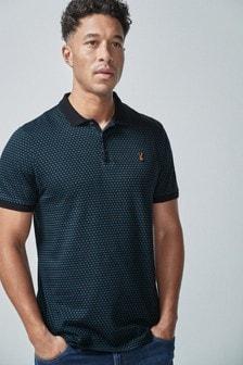 Regular Fit Pattern Poloshirt