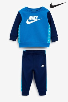 Nike Infant Tape Crew and Jogger Set