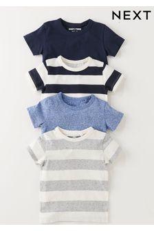 4 Pack T-Shirts (3mths-7yrs)