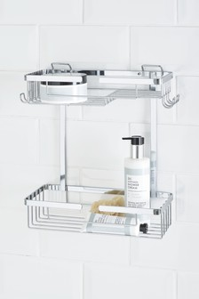 Two Tier Wire Shower Caddy