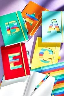 Alphabet A5 Notebook