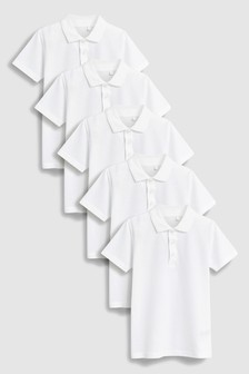 Poloshirts Five Pack (3-16yrs)