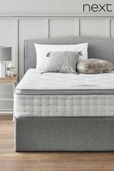 1500 Pocket Sprung Luxury Pillow Top Medium Mattress