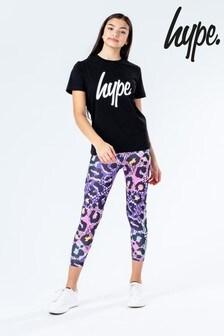 Hype. Animal T-Shirt And Legging Set