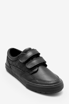 Double Strap Leather Shoes (Older)