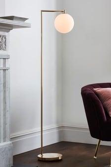 Gold Pasadena Floor Lamp