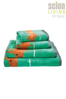 Scion Green Mr Fox Towel