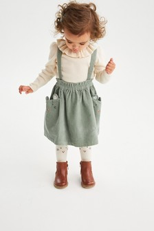 Character Cord Skirt With Tights (3mths-7yrs)