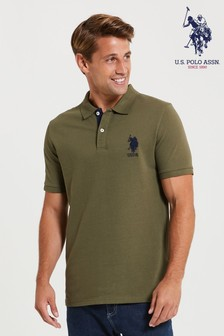 U.S. Polo Assn. Large Pique Poloshirt