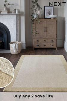 Light Natural Darcy Wool Rug