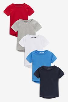 Short Sleeve T-Shirts Five Pack (3mths-7yrs)