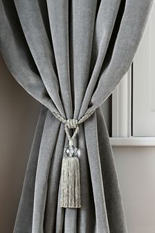 Set of 2 Tassel Tie Backs