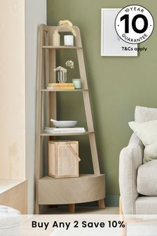 Anderson Compact Storage Corner Ladder Shelf