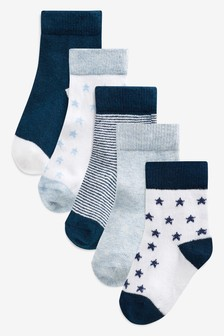 Socks Five Pack (Younger)