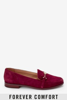 Leather Hardware Loafers