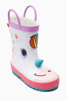 Unicorn Wellies (Younger)