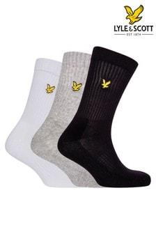 Lyle & Scott Multi Sport Socks Three Pack