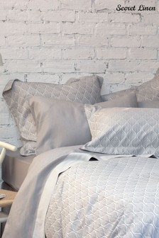 Secret Linen Store Teasels Pillowcase