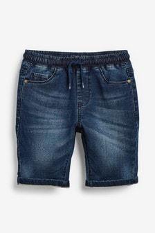 Jersey Denim Shorts (3-16yrs)