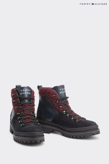 Tommy Hilfiger Blue Cosy Outdoor Boots