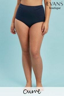 Evans Curve Blue Essential Bikini Briefs