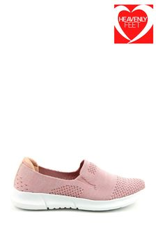 Heavenly Feet Pink Ladies Ath-Leisure Shoes