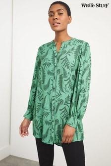 White Stuff Green Alaia Tunic