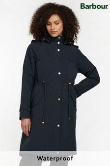 Barbour® Modern Heritage Navy Blue Waterproof Bannockburn Rain Jacket