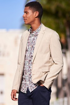 Slim Fit Deconstructed Slim Fit Blazer