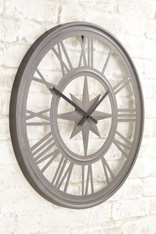 Outdoor Compass Wall Clock