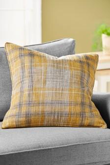 Astley Check Large Cushion