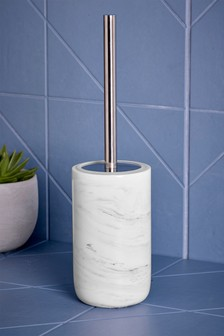Marble Effect Toilet Brush
