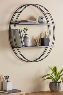 Large Round Shelf