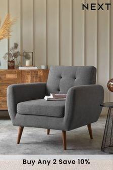 Hyett Arm Chair with Mid Legs