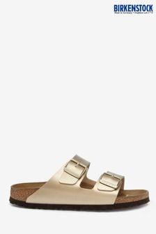 Birkenstock® Gold Metallic Arizona Sandals